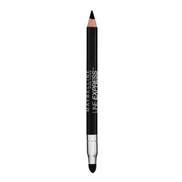 Line Express Wood Pencil Eyeliner - Eye Makeup - Maybelline ($5.95) ❤ liked on Polyvore featuring beauty products, makeup, eye makeup, eyeliner, pencil eye liner, pencil eyeliner, maybelline eye makeup, maybelline eye liner and eye pencil makeup