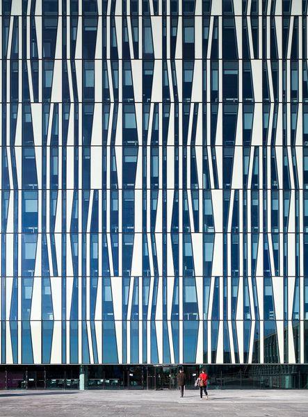 University of Aberdeen New Library, Aberdeen, Scotland.