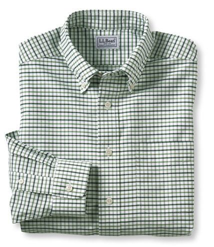 Wrinkle resistant classic oxford cloth shirt traditional for Ll bean wrinkle resistant shirts