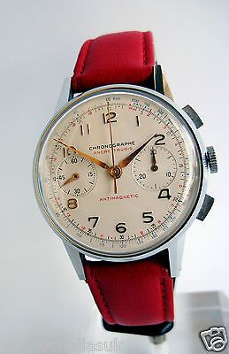 CHRONOGRAPHE SUISSE, mvnt Landeron, Excellent condition, Fully Serviced, 50's
