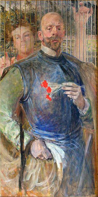 Lwowska Galeria Sztuki - Jacek Malczewski - Self-Portrait with Muse.jpg