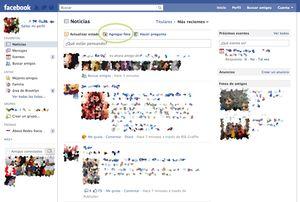Guía con imágenes de los pasos a seguir para subir una foto a Facebook: Empieza a subir una foto