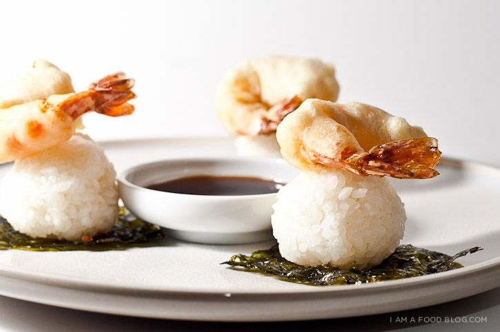 Ebi Tempura Rice Ball Recipe « i am a food blog