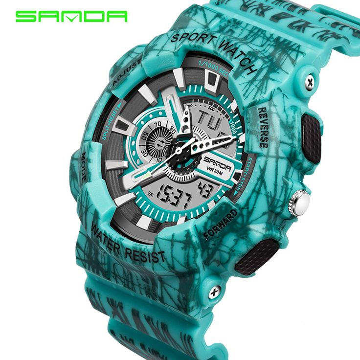 $19.99 (Buy here: https://alitems.com/g/1e8d114494ebda23ff8b16525dc3e8/?i=5&ulp=https%3A%2F%2Fwww.aliexpress.com%2Fitem%2F2016-SANDA-futuristic-luxury-men-women-waterproof-fashion-casual-military-quartz-hot-brand-sports-watches-relogios%2F32705505588.html ) 30M Waterproof Mens Sports Watches Relogio Masculino 2016 Hot Men Silicone Sport Watch Reloj S Shockproof Electronic Wristwatch for just $19.99