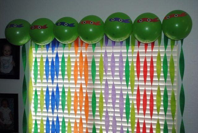Teenage Mutant Ninja Turtles Birthday Party Ideas   Photo 9 of 33