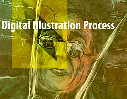 """Check out new work on my @Behance portfolio: """"Digital Illustration Process"""" http://on.be.net/1McUSRR"""