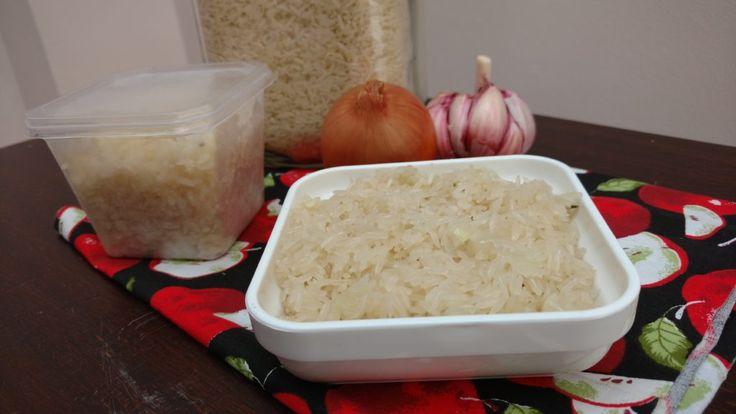 congelamento de arroz refogado