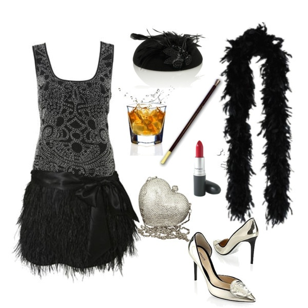 Fun, flirtatious, and fierce outfit for the Roaring '20s fashion contest on shopforfun.com, put together by Amanda
