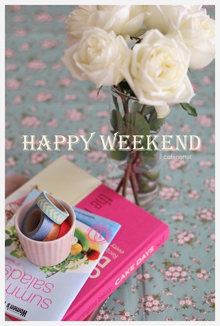 """""""Happy Weekend""""-Ladies. Thank You so much for your beautiful pins. It is a pleasure to pin with you ♥"""