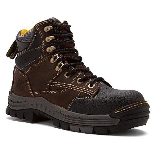Amazon.com | Dr. Martens Mens Isambard Wp Safety Toe 8 Tie Boot Waterproof | Hiking & Trekking