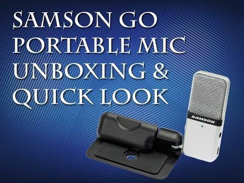 Samson Go Mic Portable Unboxing and Quick Look – Tarun Dham