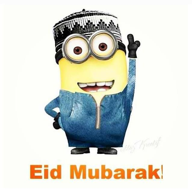 Eid Mubarak (Happy Eid) Minion