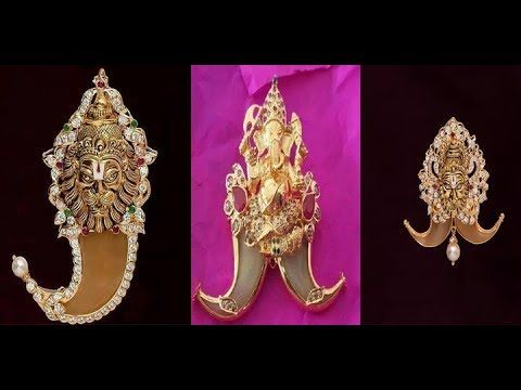 Ultimate Royal Tiger Nail/ puli Goru Pendant Designs With God Head