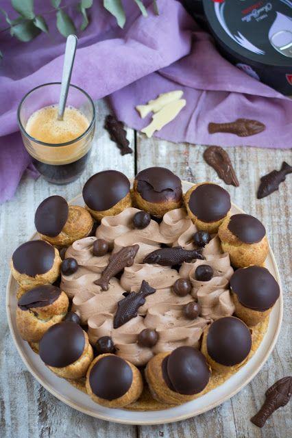 Saint Honoré au chocolat