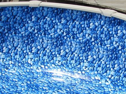 21 39 beaded pool liner stoney creek 3d 48 pool liners and tiki bars for Swimming pool liners wholesale