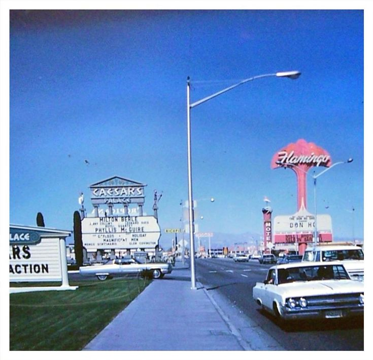 """Vegas in the star studded days — with Milton Berle """"Mr. Television"""", Phyllis McGuire and Don Ho."""
