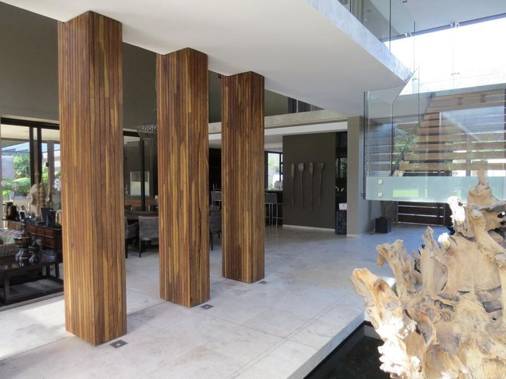 Living spaces 1. Thai Contemporary fusion home, Cape Town, South Africa. By RennieScurrAdendorff Architects