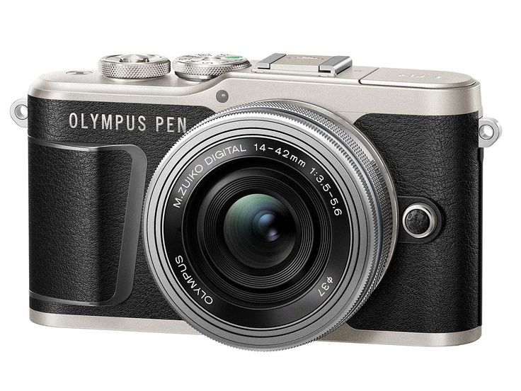 Olympus tiny Pen E-PL9 has 4K and image stabilization