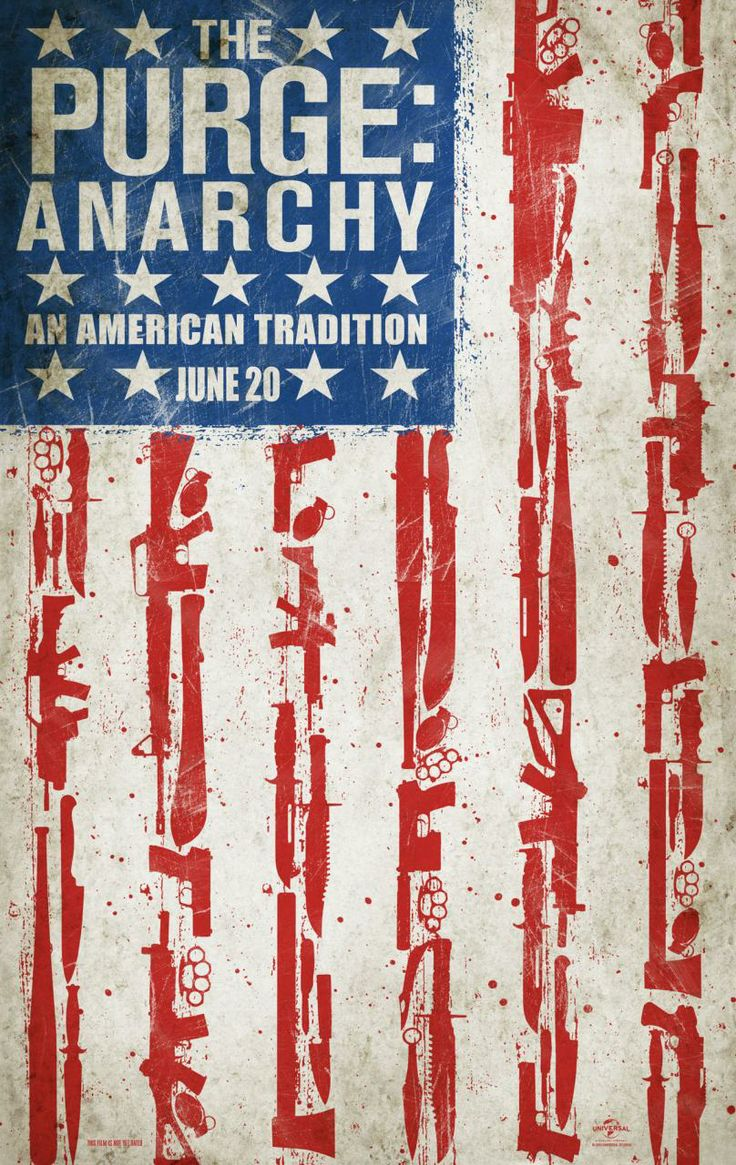 "New ""the Purge: Anarchy"" poster"