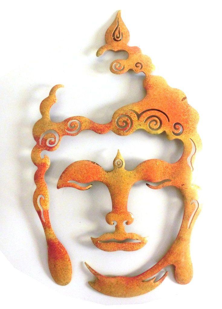 Cute Pulverbeschichtetes Metall Wanddekoration f r innen und au en Wetterfest