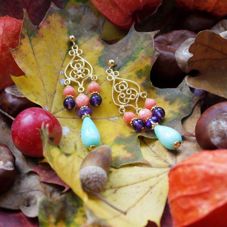 Herbst-Details 🍁 Ohrringe: Perlotte Schmuck