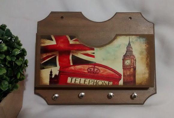 Porta Cartas e Chaves London