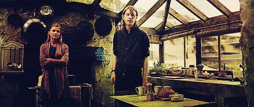 harry potter mine3 dh pt2 fleur delacour clemence poesy Domhnall ...