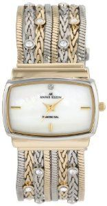 #Anne Klein 109271mptt Swarovski Multi Chain   women watch #2dayslook #new #watch #nice  www.2dayslook.com
