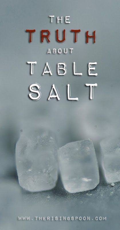 When was the last time you took a hard look at the contents of your salt shaker? If you're still using regular 'ol iodized table salt, then probably years ago (or never). But all salts are exactly the same, right? Nope. Read on, foodies...| www.therisingspoo...