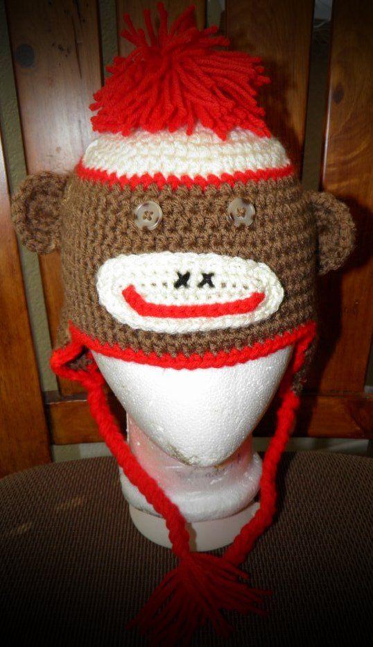 sock monkey hat sock monkeys socks theater knitting forward sock ...