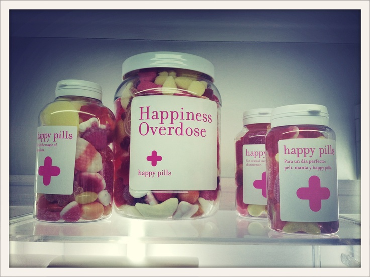 happy pills, the best place for candy and any ache