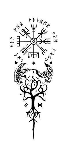 Viking Tattoo Google Suche Woodworkingtattoo Woodworking Tattoo