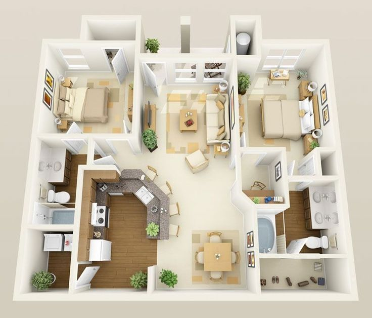 51 Small Apartment Layout To Upgrade Your Decoration – apartment.modella.club