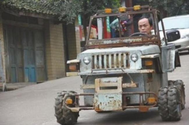 Replika Mobil Jeep Buatan Koki Asal China - Vivaoto.com - Majalah Otomotif Online