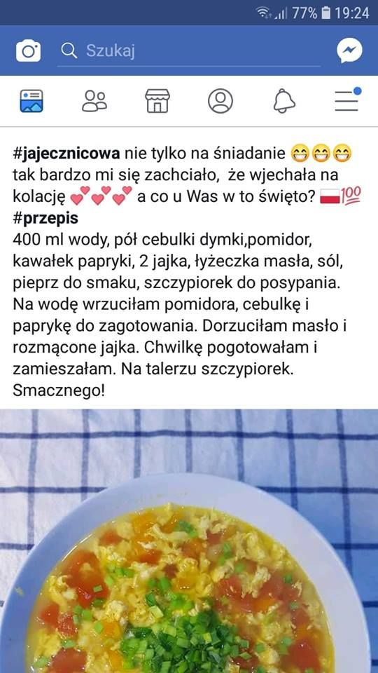 Pin Od Agus T Na Zupomania W 2019 Przepisy Zupy I Zdrowe Jedzenie