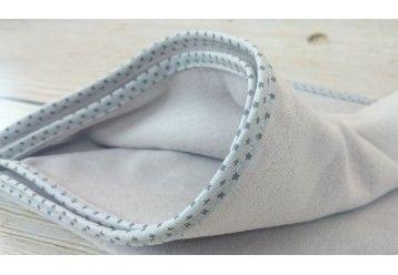 ORGANIC Scandinavian Style Stars MAXI Baby Blanket - 100% ORGANIC COTTON