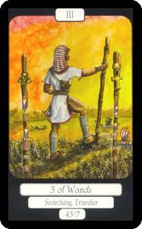 Our Daily Tarot today is about waiting for your ship to come in with the #3ofwands. We see a man holding his wands and looking out into the horizon. He is waiting for news after work that he has put in. And he will get it. The message from this card is worry not. All good things are on their way to you.