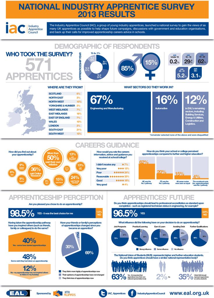 INFOGRAPHIC: National Industry Apprentice Survey 2013 Results | ApprenticeEye