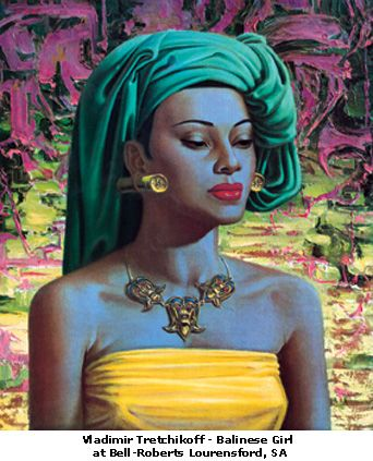 I have this 1960's print, it has been stuck in my spare room wardrobe for 8 years. Must get a frame. Wouldn't sell despite it being a Tretchikoff collectors item. Too beautiful.
