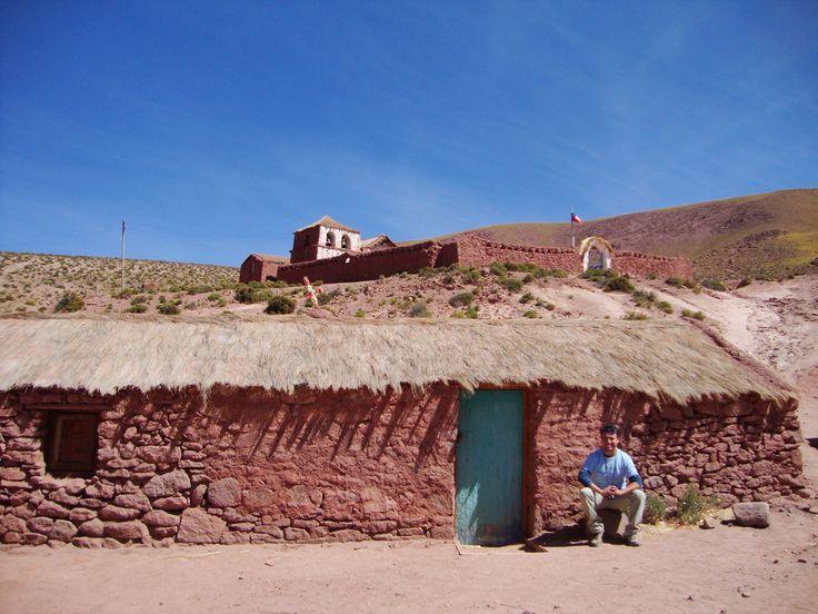 Casas en Machuca, San Pedro de Atacama, Chile.