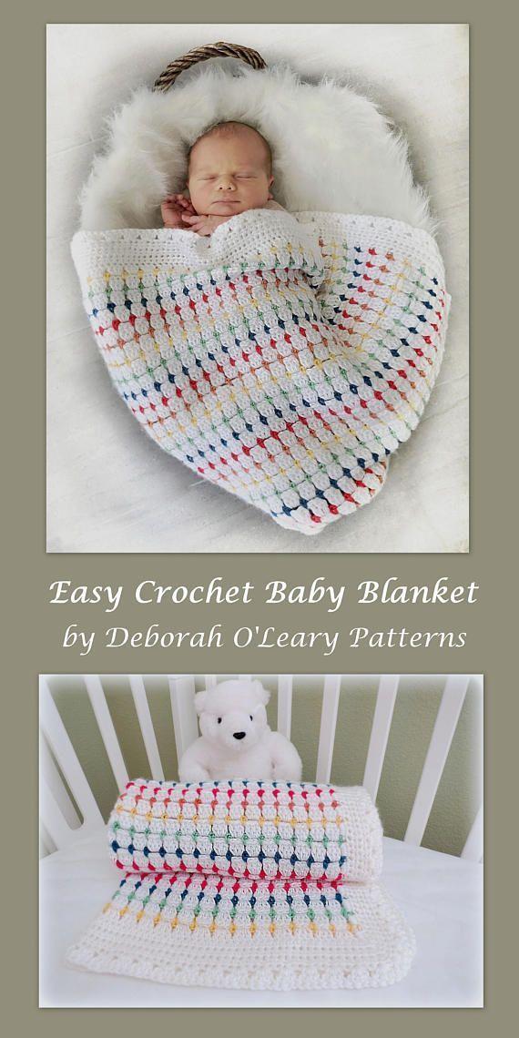 Crochet Pattern Crochet Baby Blanket Pattern Crochet Baby