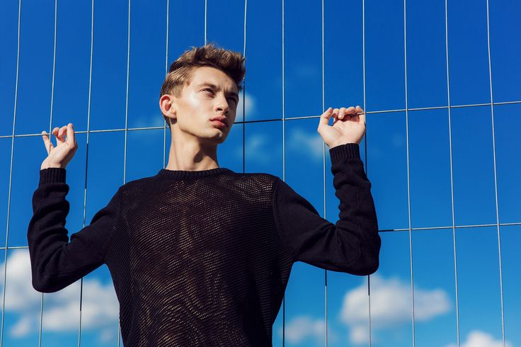 Model: Patryk Banas A S management Stylist: Wojciech Szymański / Stylist Make up/ hair: Colette - Make Up Artist and Stylist