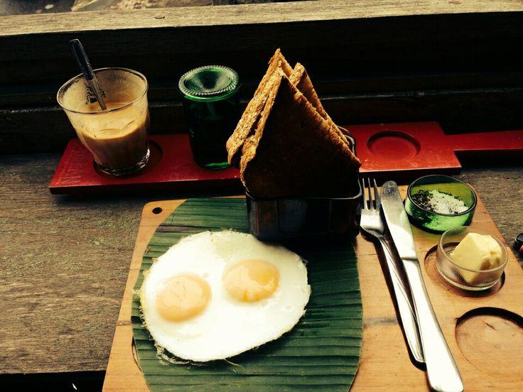Toast at Seniman Cafe, Ubud, Bali