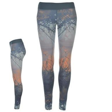 adidas | All Over Print Yoga Tights Ladies | Ladies Fitness Clothing