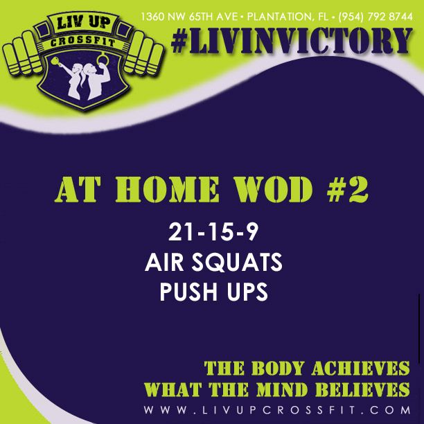 Heres An AT HOME WOD You Can Knock Out Right In Your Living Roomadding Sit Ups