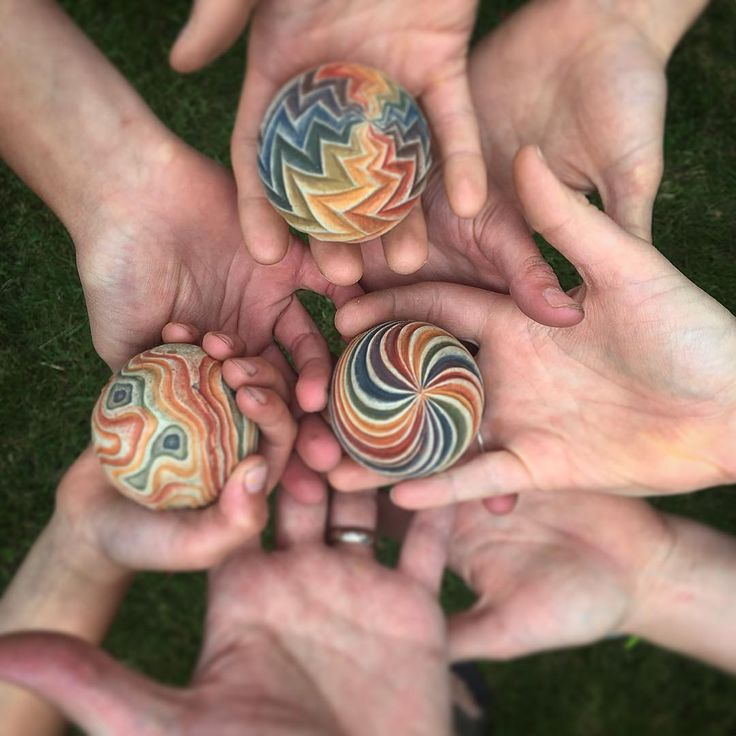 celebrate pride with cement spheres made for playing in the sand choose from 3 different zen sand