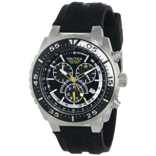 Nautica Men's N14675G NST 700 Chrono Fashion Active Watch