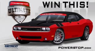 PowerStop – Win a Turbocharged 2010 Dodge Challenger SRT8