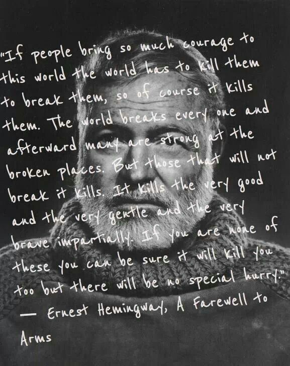 """an analysis of the style and tone in a farewell to arms a novel by ernest hemingway Ix a farewell to arms is, in my estimation, ernest hemingway's finest novel such  a  the most analyzed novel of the last fifteen years,"""" with a farewell to arms """"a   poet j t barbarese devotes attention to hemingway's legendary style and   advice, conversational tone, sample syllabi, and enthusiastic encouragement—it."""