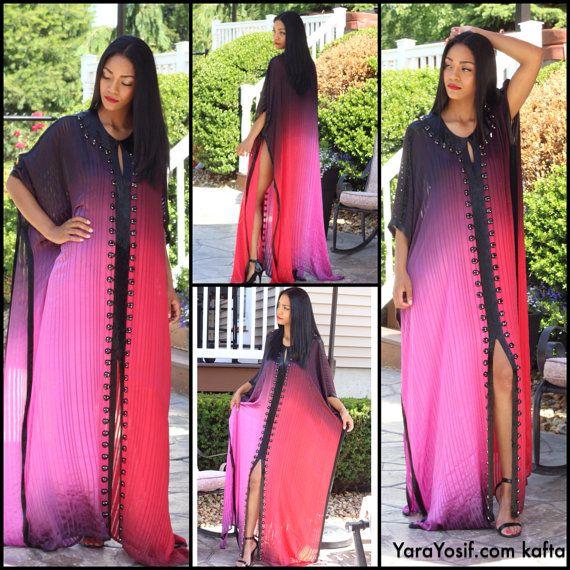 Eid bridal ramadan Dubai kaftan caftan dress in pure by YaraYosif, $395.00